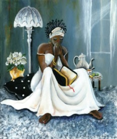 black woman faith